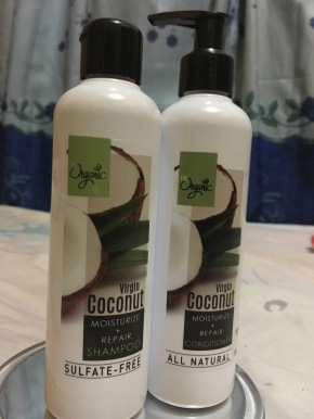 Review | Be Organic Virgin Coconut Oil Shampoo & Conditioner
