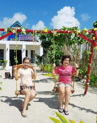 Traditional Filipino Villa Swing 1